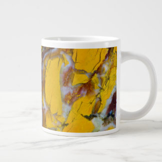 Yellow Shattuckite Giant Coffee Mug