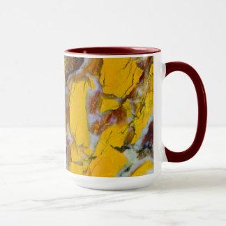 Yellow Shattuckite Mug
