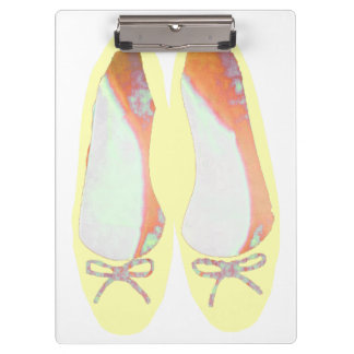 Yellow Shoes Clipboard