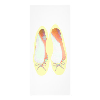 Yellow Shoes Rack Card