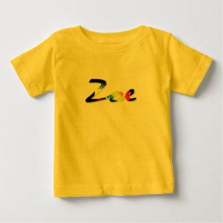 Yellow short sleeve t-shirt for Zoe