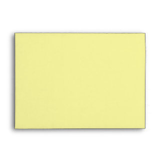 Yellow siberian iris customizable envelopes