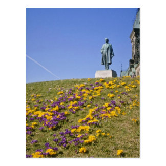 yellow Sir Wilfrid Laurier statue, Parliament Hill Post Cards