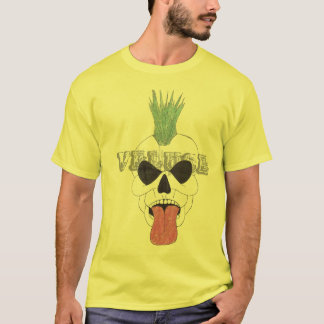 YELLOW SKULL,  BY Leon Fontaine - Customized T-Shirt