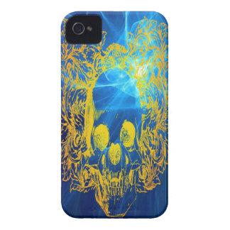 Yellow Skull iPhone 4/4s Mate ID Case