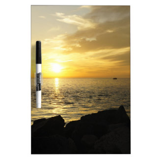 Yellow Sky Dry-Erase Board