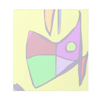 Yellow Sky Note Pad