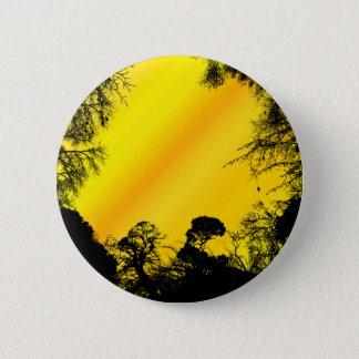 Yellow Sky Pinback Button
