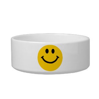 Yellow Smiley Face Bowl