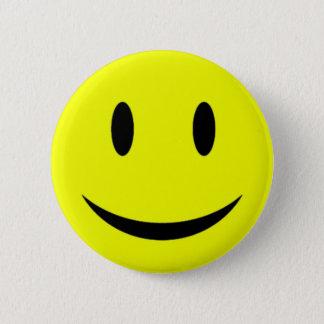 Yellow Smiley Face Button