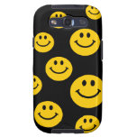 Yellow Smiley Face Galaxy SIII Cases