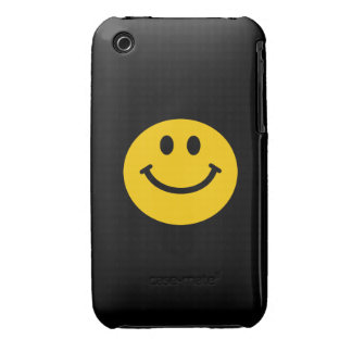 Yellow Smiley Face iPhone 3 Case