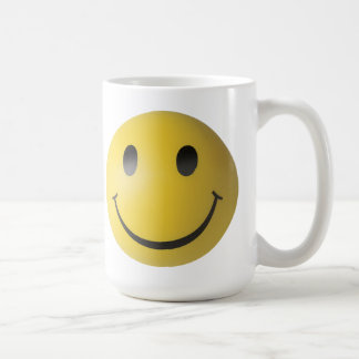 Yellow Smiley Face Mugs
