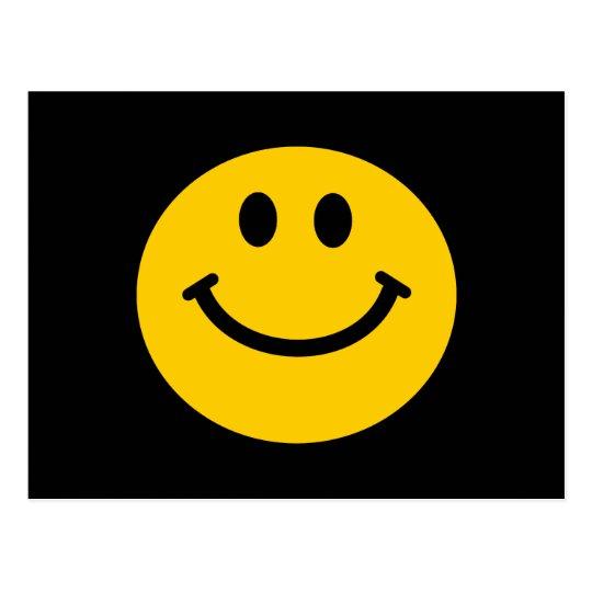 Yellow Smiley Face Postcard