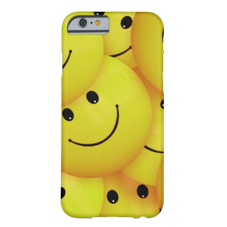 Yellow Smiley Faces Barely There iPhone 6 Case