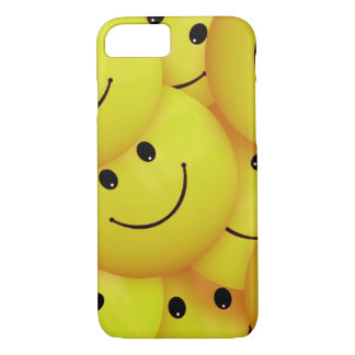 Yellow Smiley Faces iPhone 8/7 Case