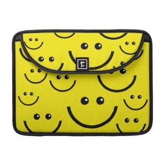 Yellow smiley faces Macbook sleeve Sleeves For MacBooks