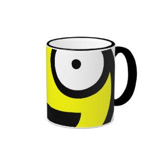 Yellow Smiley Mug