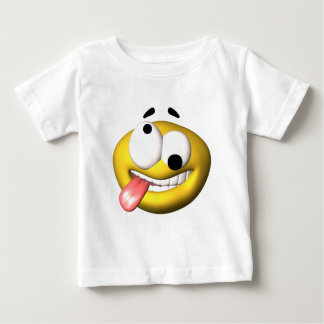 Yellow smiley that went nuts baby T-Shirt