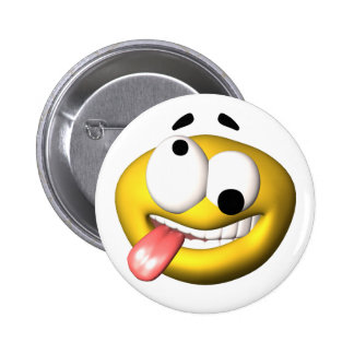 Yellow smiley that went nuts button