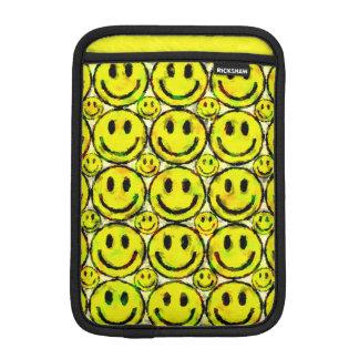 YELLOW SMILEYS iPad MINI SLEEVE