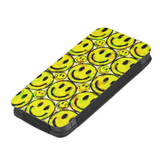 YELLOW SMILEYS iPhone SE/5/5s/5c POUCH