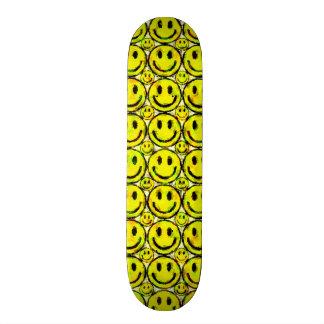 YELLOW SMILEYS SKATEBOARD DECK