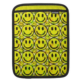 YELLOW SMILEYS SLEEVES FOR iPads