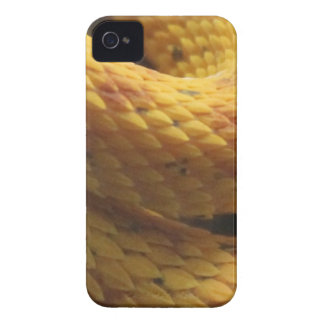 Yellow Snake Skin iPhone 4 Cases
