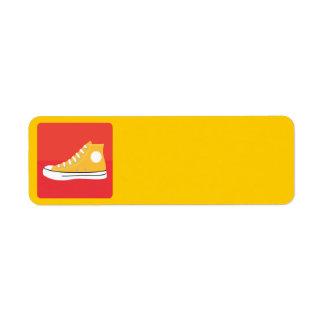 Yellow Sneaker Label