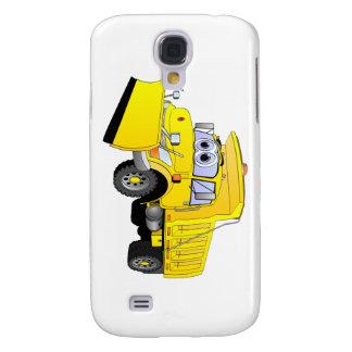 Yellow Snow Plow Cartoon Samsung Galaxy S4 Case