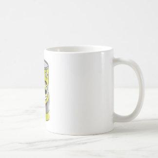 Yellow Soda Can Cartoon Coffee Mug