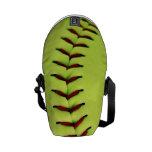 Yellow softball ball courier bag