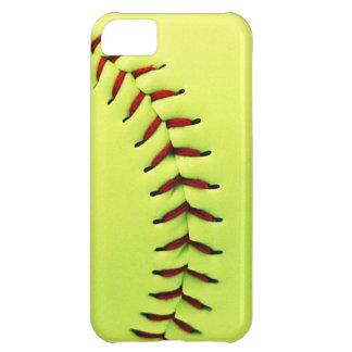 Yellow softball ball iPhone 5C cover