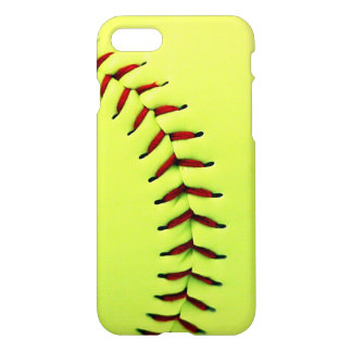 Yellow softball ball iPhone 7 case