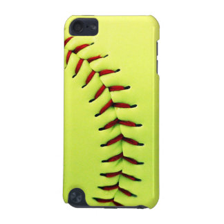 Yellow softball ball iPod touch (5th generation) cover