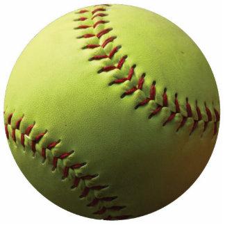 Yellow Softball Cutout