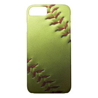 Yellow Softball Fastpitch iPhone 8/7 Case