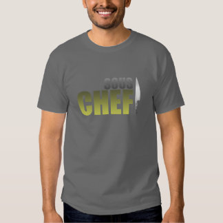 Yellow Sous Chef Tee Shirt