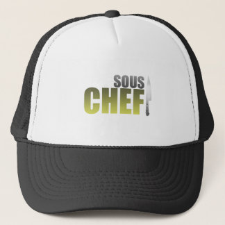 Yellow Sous Chef Trucker Hat