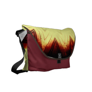 Yellow Southwestern Style Messenger Bag