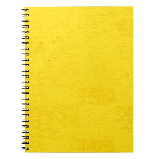 YELLOW SPARKLE SHADE KOOLshades Notebook