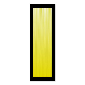 Yellow Speed Bookmark Double-Sided Mini Business Cards (Pack Of 20)