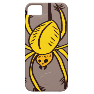 Yellow Spider iPhone SE/5/5s Case
