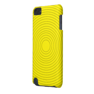 yellow spiral illusion ipod touch 5g iPod touch 5G cover