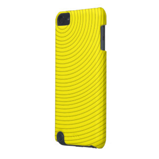 yellow spiral line ipod touch 5g iPod touch (5th generation) case