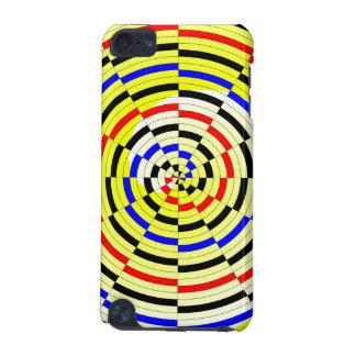 Yellow Spirals iPod Touch 5G Case
