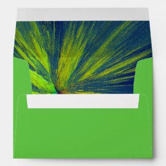 Yellow splash envelopes