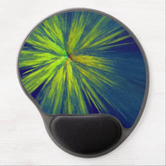 Yellow splash gel mouse pads