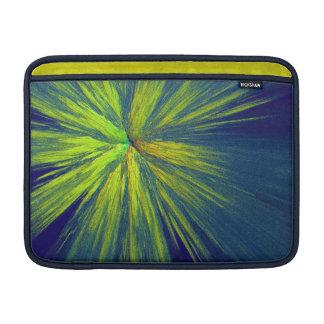 Yellow splash MacBook sleeve
